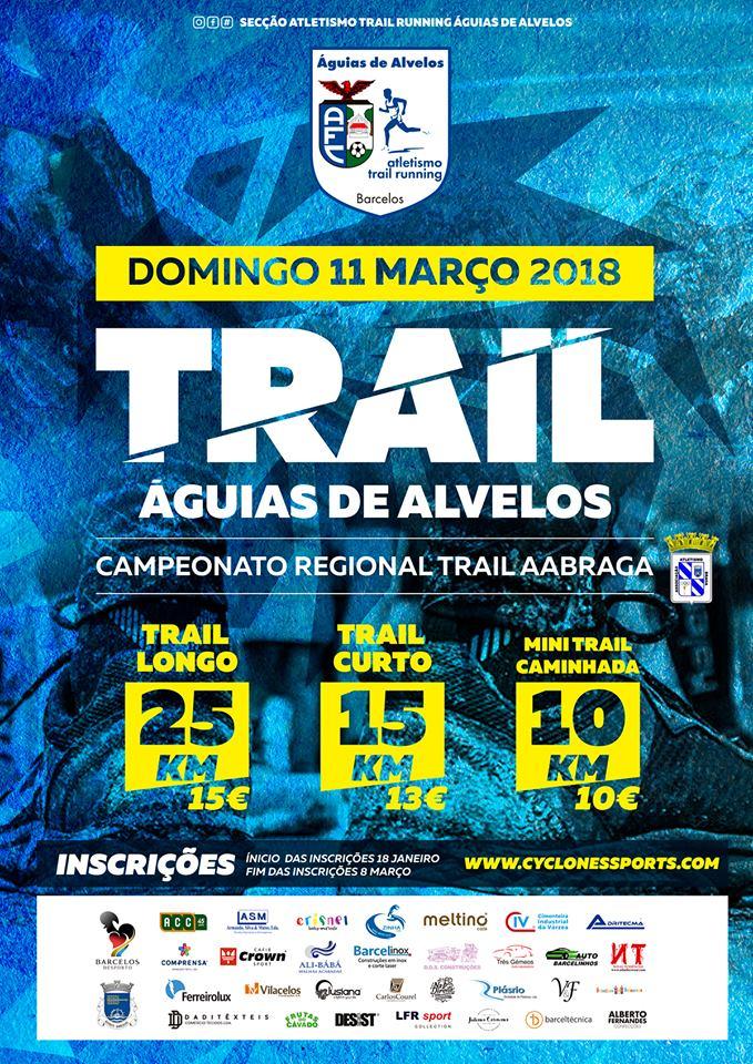Trail Águias de Alvelos realiza-se domingo