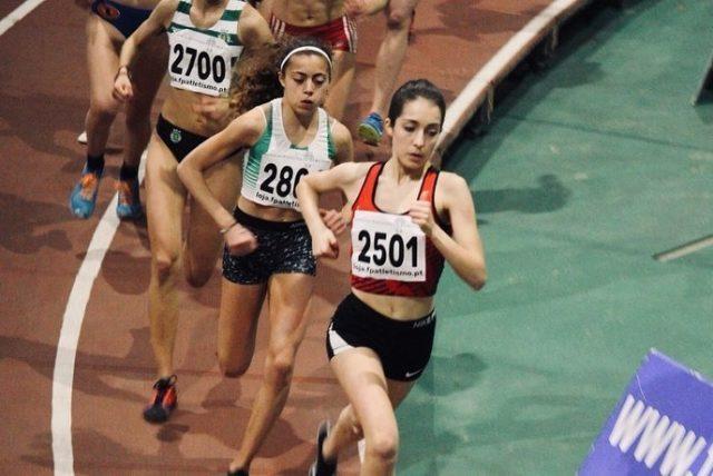 Beatriz Rios é vice-campeã nacional de 1500 e 3000 metros