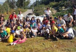 Escuteiros de Barcelos limpam Serra de Valongo