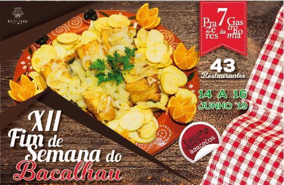 XII Edição do Fim-de-Semana do Bacalhau conta com 43 restaurantes