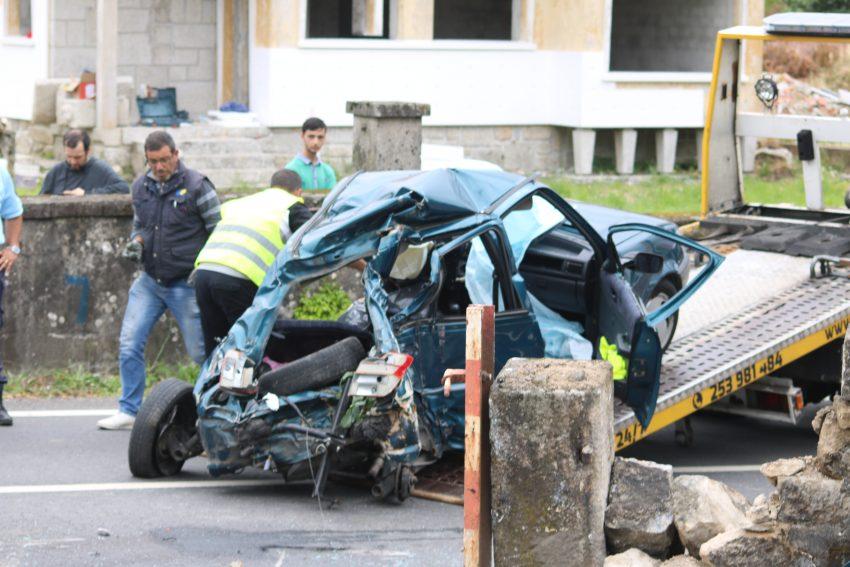 Três mortos em colisão de comboio e automóvel em Carapeços